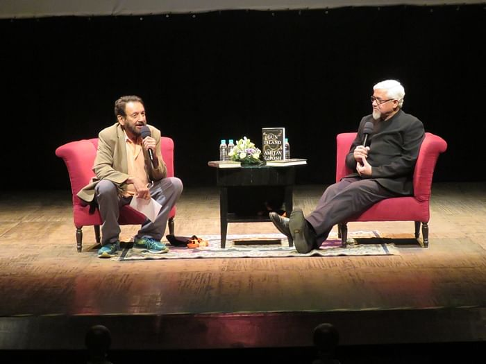 We have to find a new way for writing about our world: Amitav Ghosh tells Shekhar Kapur