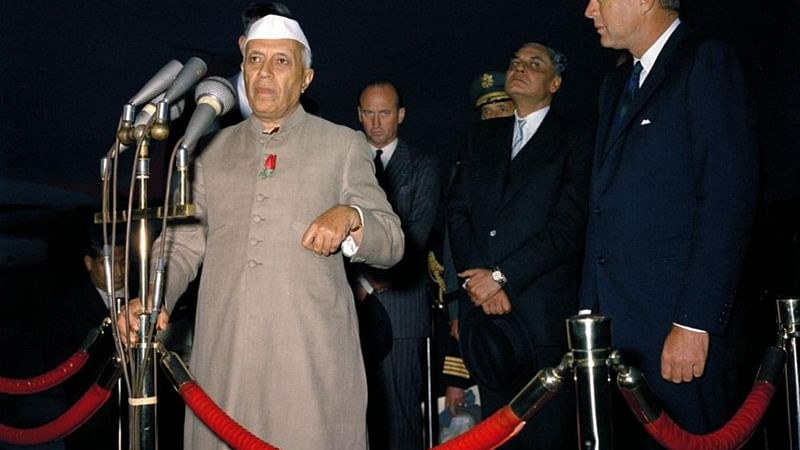 Throwback Thursday: Jawaharlal Nehru aces a headstand; See picture