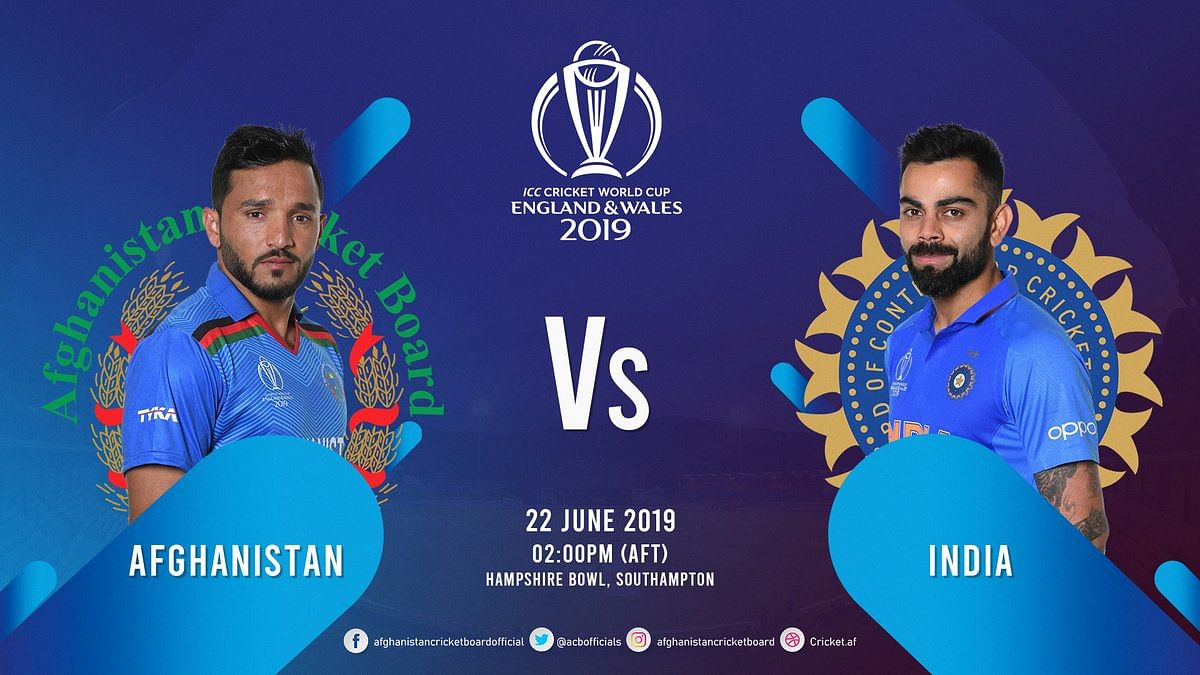 India vs Afghanistan World Cup 2019 Match 28 live telecast, online streaming, live score, when and where to watch in India