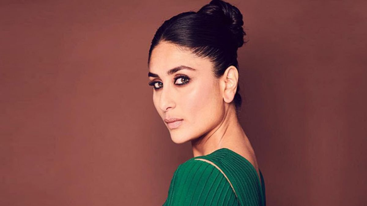 Kareena Kapoor Khan shines in this Tadashi Shoji green gown