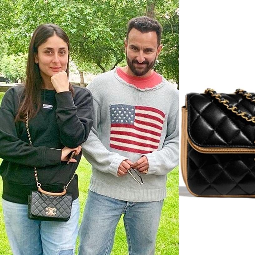 Kareena Kapoor Khan's Chanel Bag costs Rs 3.1 Lakh!