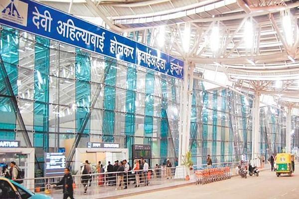 First international flight from Indore