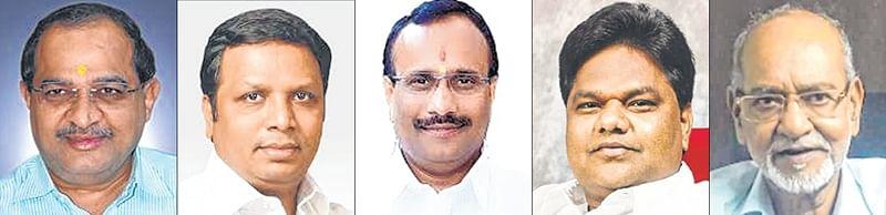 Vikhe Patil, Ashish Shelar, Atul Save, Atul Save, Avinash Mahatekar