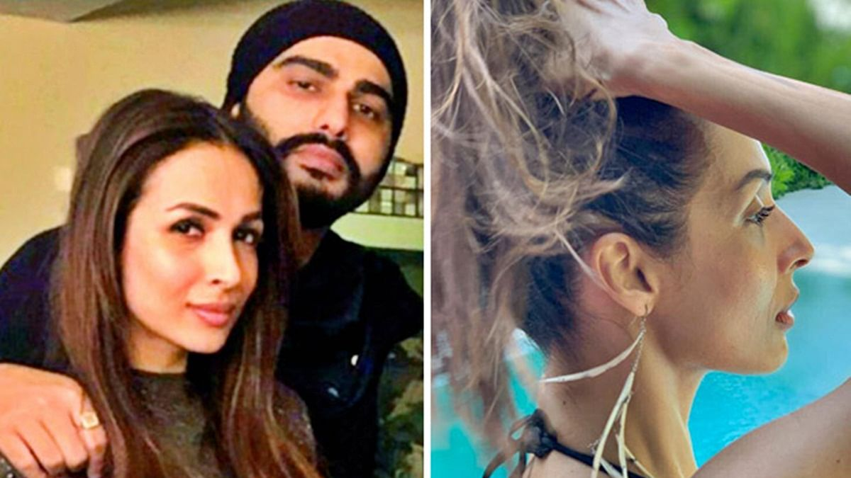 Arjun Kapoor, Malaika Arora had this cute banter over her swimsuit photo