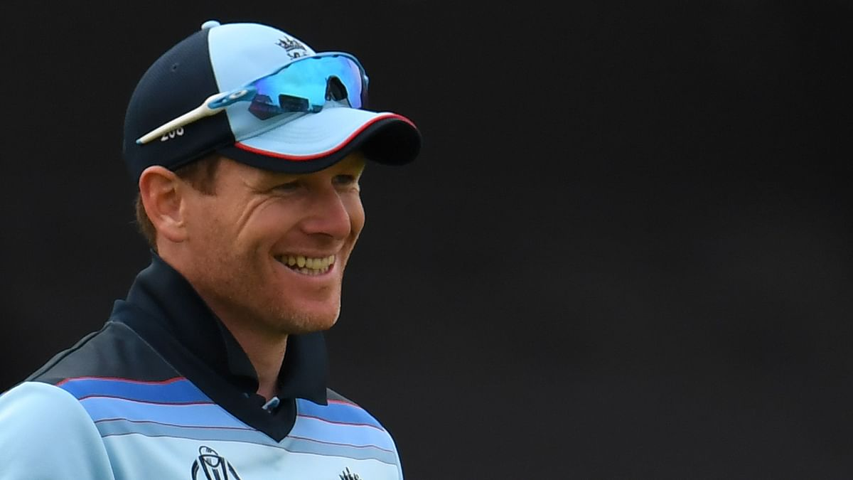 England's captain Eoin Morgan