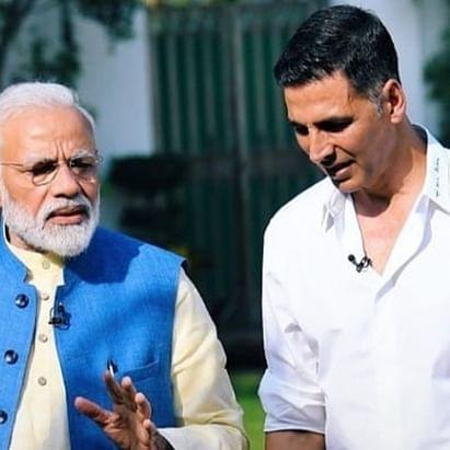 PM Narendra Modi praises Akshay Kumar's septuagenarian mother for practising yoga