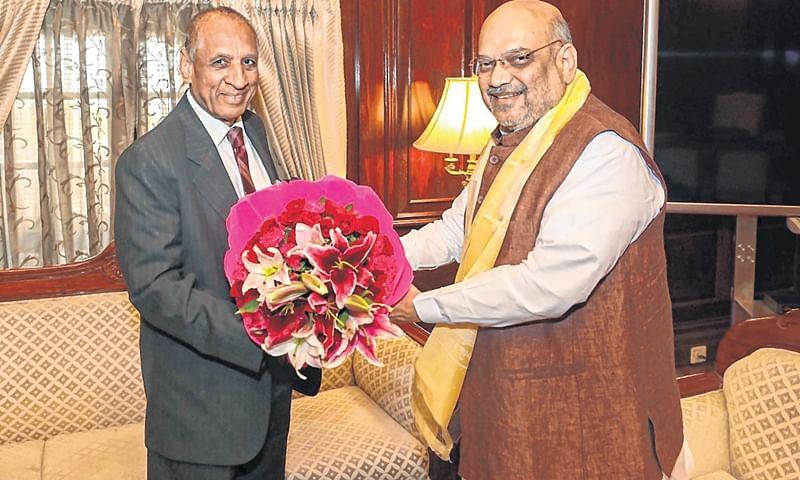 Guvs meet Home Minister Amit Shah