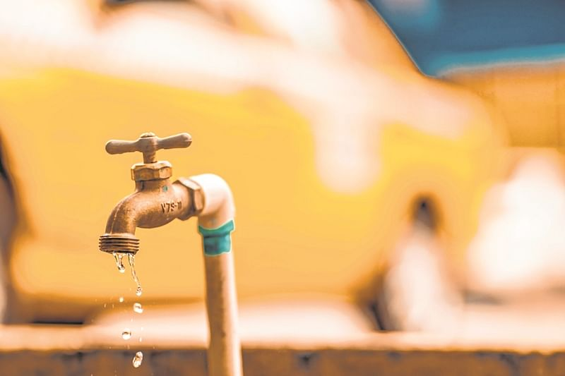 Indore: Pipeline burst, supply hit in some colonies