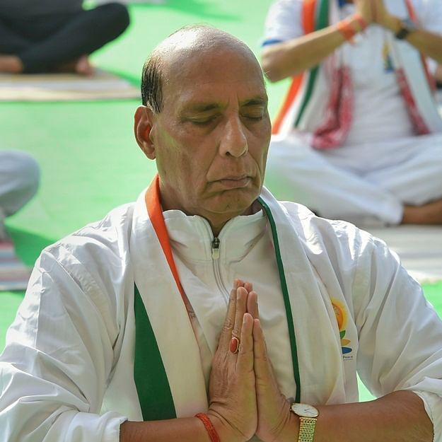 Yoga, one of PM Narendra Modi's biggest achievements of cultural diplomacy: Rajnath Singh