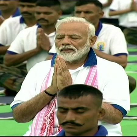 Yoga integral part of our culture, above everything, says PM Narendra Modi