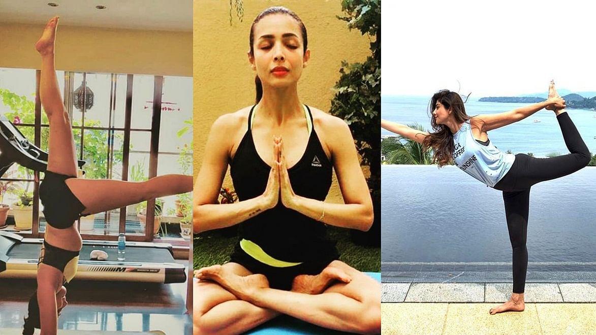 International Yoga Day 2019: Malaika Arora, Kareena Kapoor- Celebs who religiously follow yoga