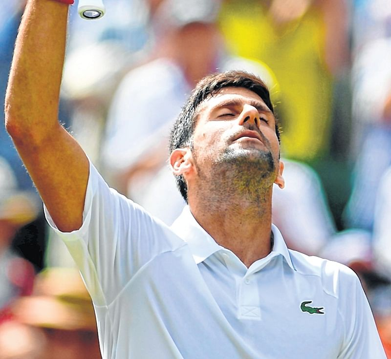 Wimbledon: Equals Becker, Connors and Laver in the all-time list of most men's singles Wimbledon final