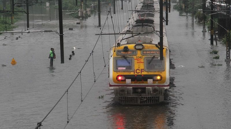 Mumbai Rains: Heavy downpour continues to lash city, Central and Western Railway affected; BEST buses diverted due to water-logging