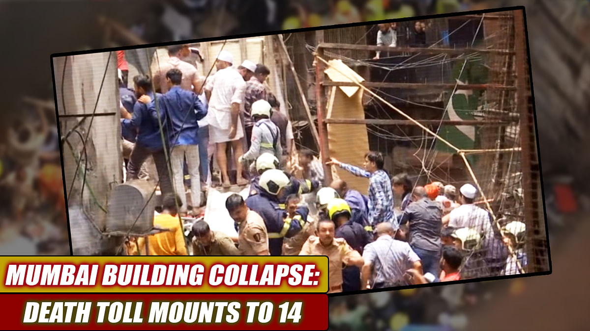 Mumbai Building Collapse: Death Toll Mounts To 14