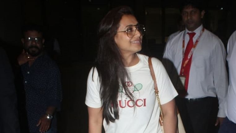 Rani Mukerji in Rs 1.7 Lakh Gucci outfit is turning heads at the airport