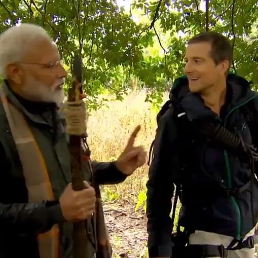 PM Narendra Modi to feature with Bear Grylls in 'Man vs Wild' episode on August 12