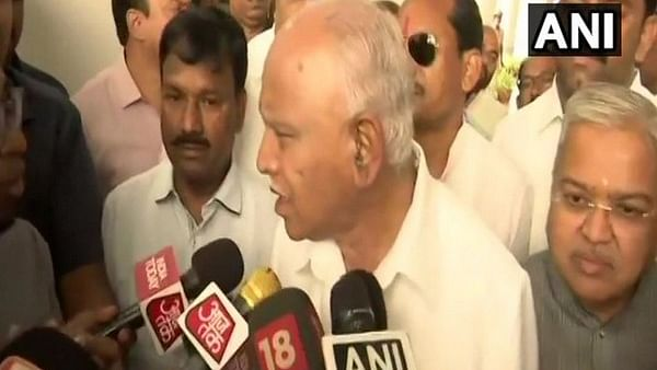 Karnataka crisis: Whip will be issued to party MLAs, says YS Yeddyurappa