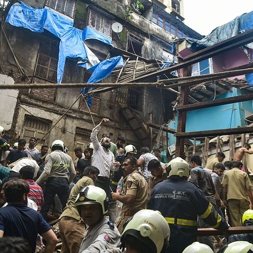 Dongri building collapse: Family members perish, kin untraceable -- Tragic tales emerge from debris