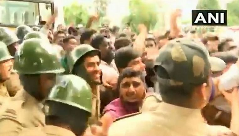 Section 144 imposed in Bengaluru after Cong-BJP workers clash