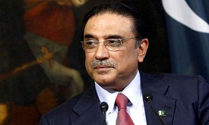 Pakistani news channel stopped from airing jailed ex-prez Zardari's interview