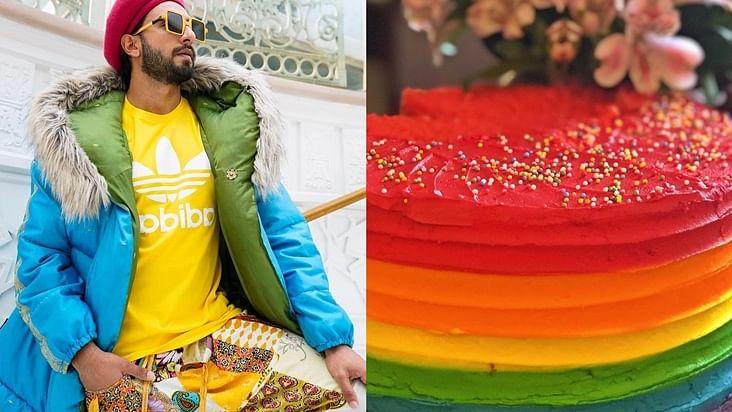 Loved Ranveer Singh's rainbow cake? Here's where to find it in Mumbai