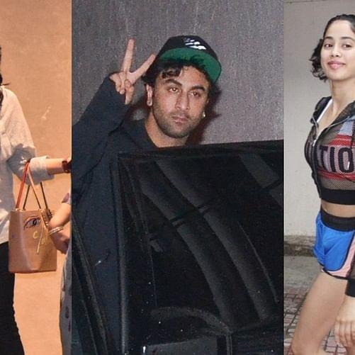 Spotted! Ranbir Kapoor, Aishwarya Rai Bachchan, Janhvi Kapoor and others