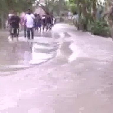 Heavy rainfall leaves Beed roads flooded