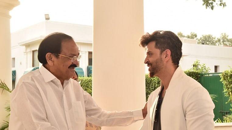 Hrithik Roshan thanks VP M Venkaiah Naidu for praising his performance