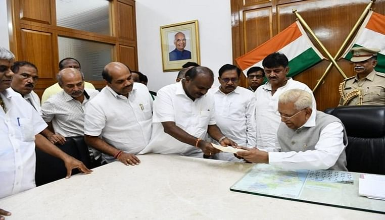 K'taka govt falls after losing trust vote; CM Kumaraswamy submits resignation