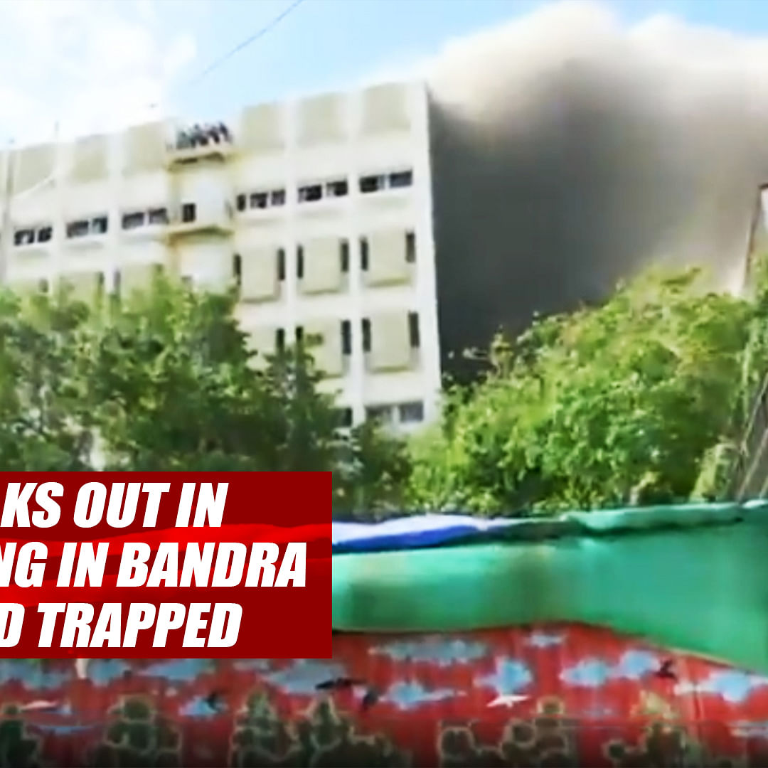 Fire breaks out in MTNL building in Bandra, 100 feared trapped