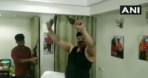 BJP MLA seen brandishing gun claims viral video edited, terms it 'intrusion of privacy'