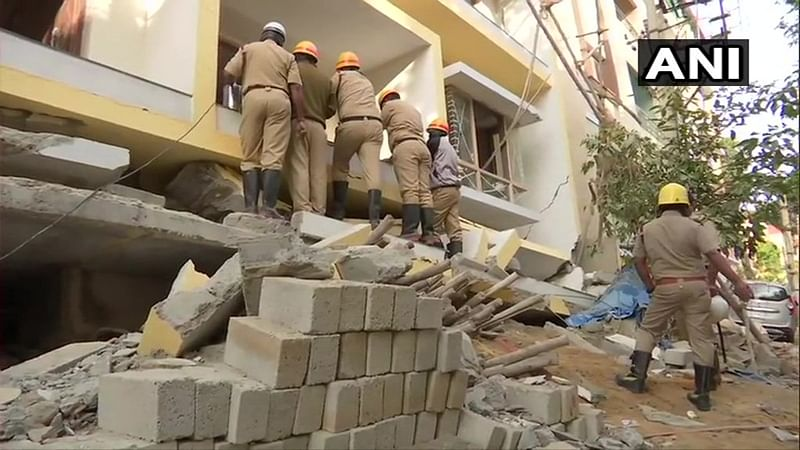 Two more rescued from collapsed under-construction building in Bengaluru