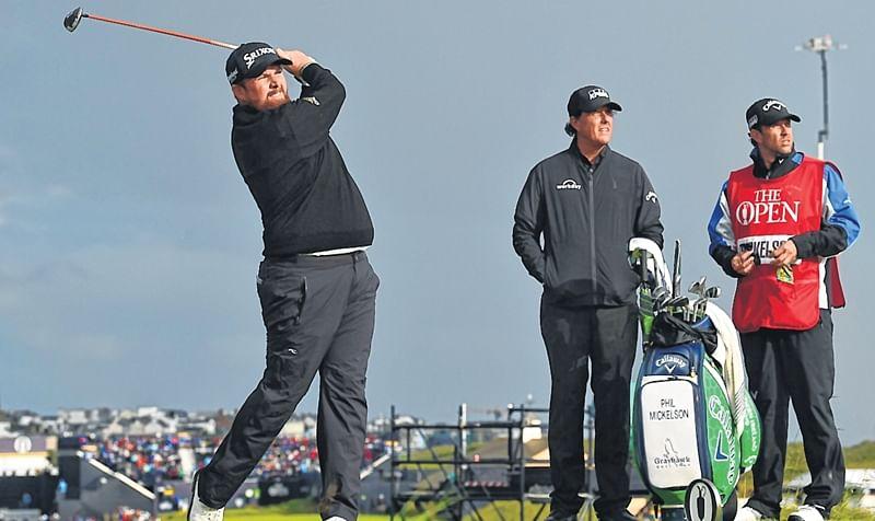 Ireland's Shane Lowry takes Open lead