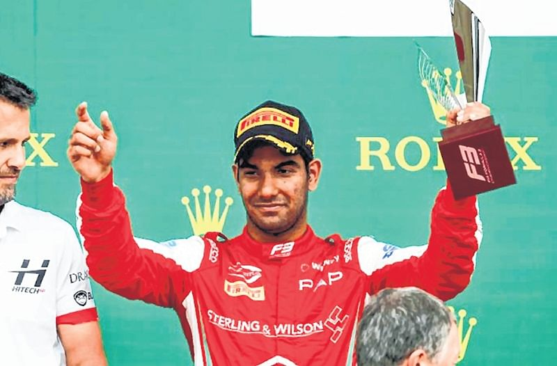 Mumbai's Jehan Daruvala bags sensational pole position at Spa Francorchamps circuit
