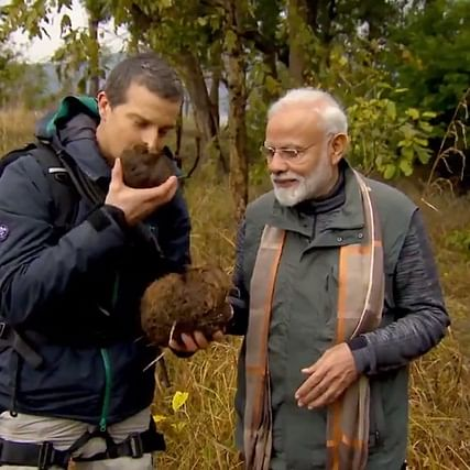 PM Narendra Modi with Bear Grylls in 'Man vs Wild', here's when and where you can watch the episode