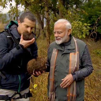 Modi on 'Man Vs Wild': When we go against nature then everything becomes dangerous