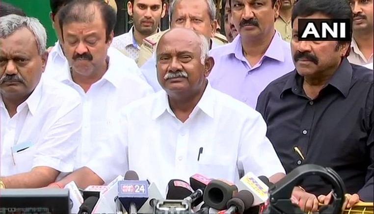 JDS leader claims 14 MLAs have resigned