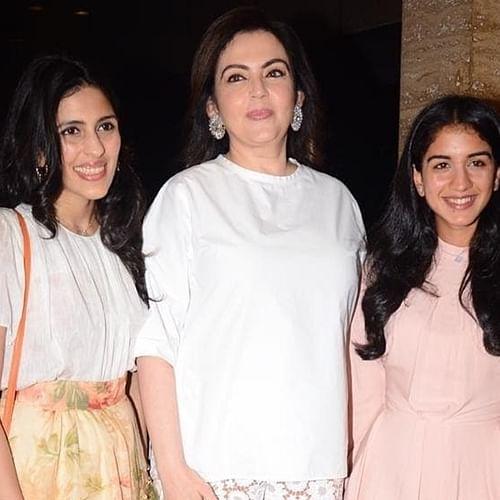 Nita Ambani, Radhika Merchant, Shloka Mehta are every bit royal in these pictures