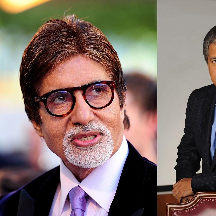 Amitabh Bachchan, Anand Mahindra enjoys banter over 'Big B' epithet