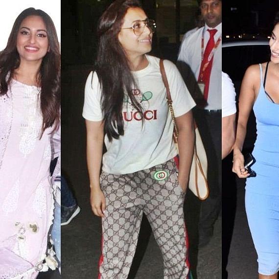 Paparazzi Diaries: Disha Patani, Sonakshi Sinha, Rani Mukerji and others spotted