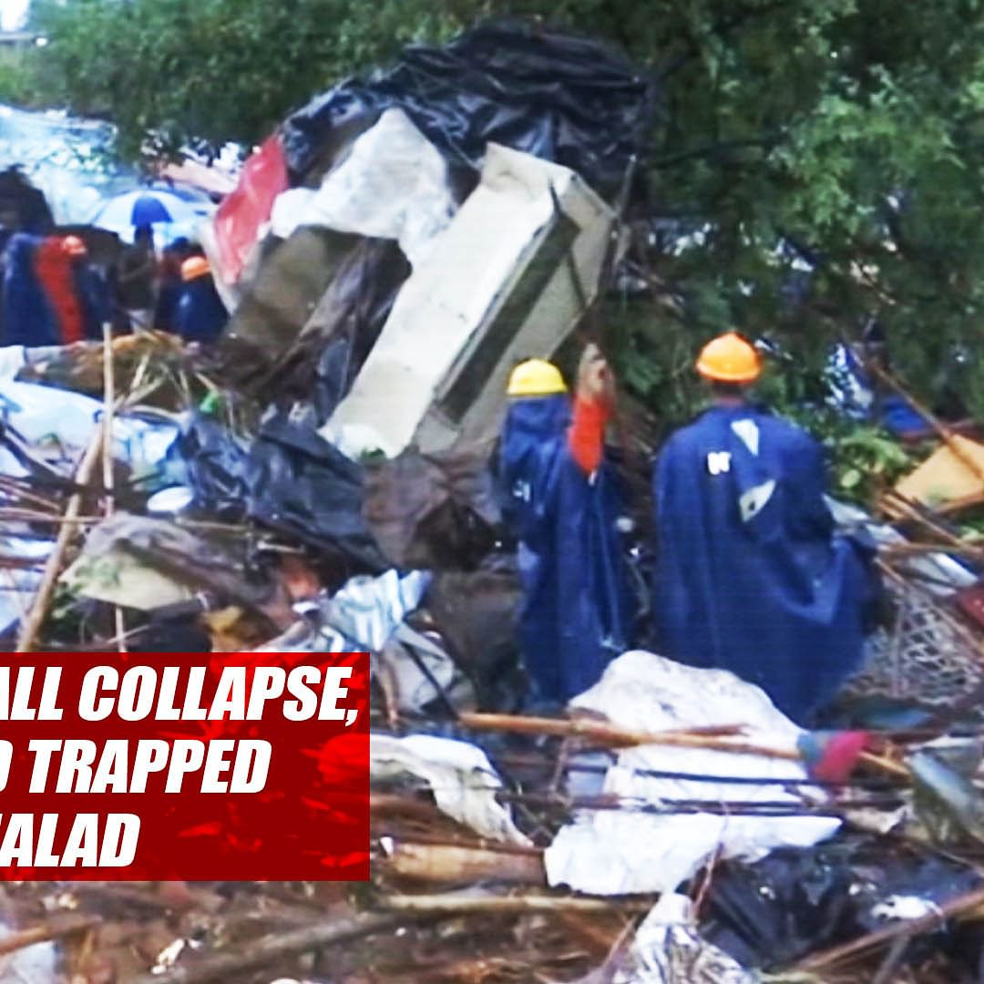 13 People Die In Wall Collapse, Several Feared Trapped In Mumbai's Malad