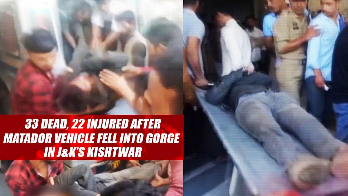 33 Dead, 22 Injured After Matador Vehicle Fell Into Gorge In J&K's Kishtwar