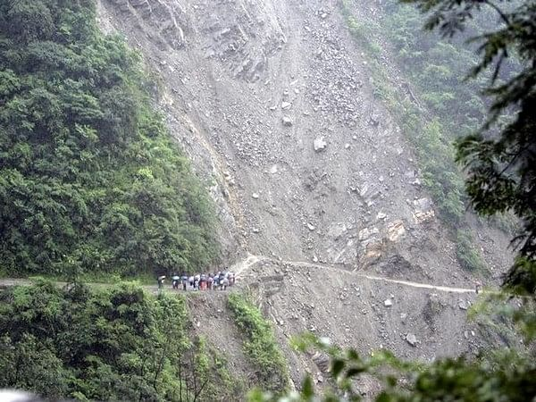 Landslide in AP: 2 injured, one feared trapped; rescue operation underway