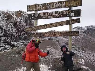 Pune boy scales Mount Kilimanjaro