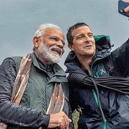 Twitterati goes gaga over PM Narendra Modi in 'Man vs Wild'