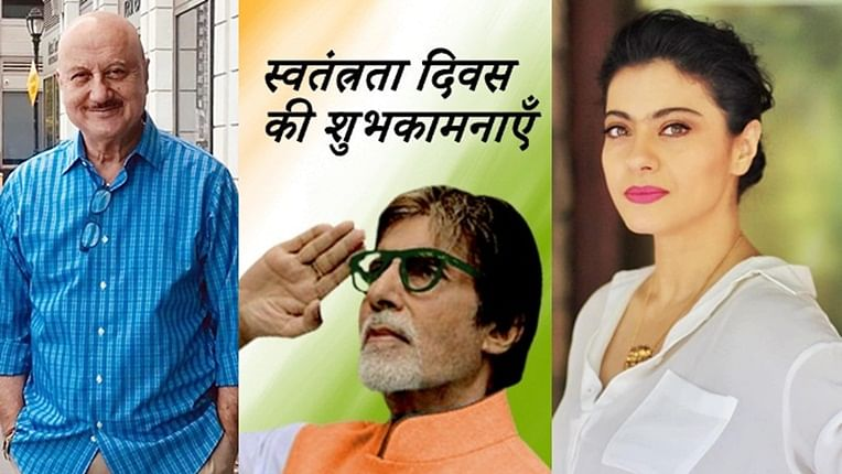 Amitabh Bachchan, Kajol and other B-town celebs extend wishes on 73rd Independence Day