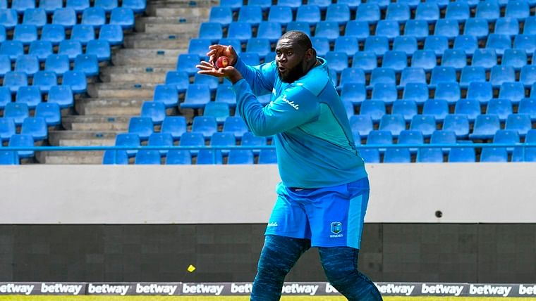 India vs West Indies 2nd Test: 6 ft 5 in, 140 kg - Rahkeem Cornwall breaks record to become heaviest Test cricketer
