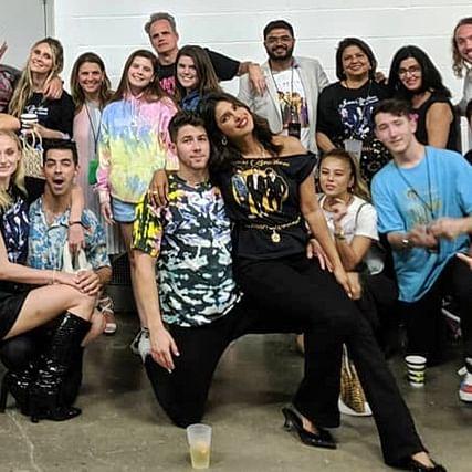 Priyanka Chopra and her 'J-Sisters' cheer for Jonas Brothers on 'Happiness Begins' tour
