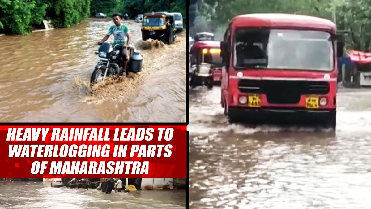 Mumbai Rains: Heavy Rainfall Leads To Waterlogging In Many Parts
