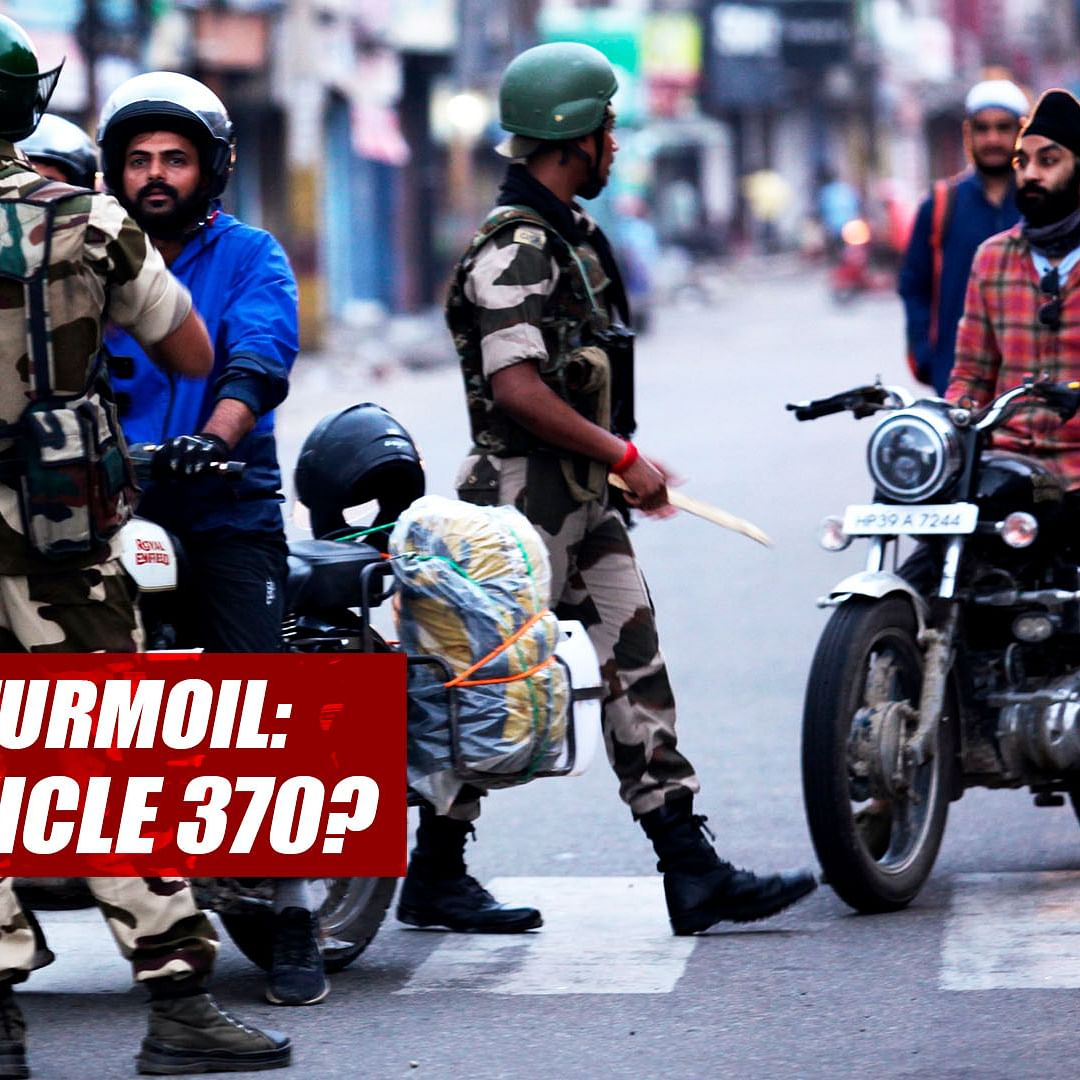 Kashmir Turmoil: What Is Article 370? What Does The Government Notification Say?
